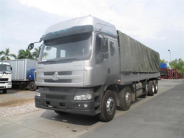 Bán xe tải chenglong 5 giò tải tọng 22T5 thùng bạt nhà máy chỉ cần có 200tr